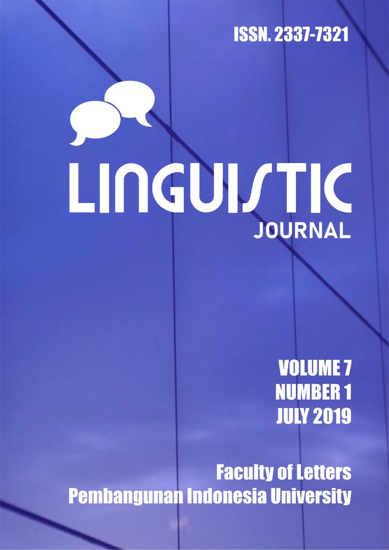 Lihat Vol 7 No 1 (2019): Linguistic Journal